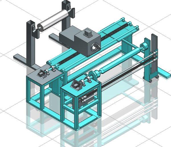Filament winding machine design