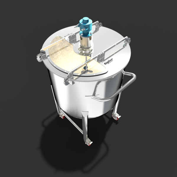 Емкость передвижная 250л[en]Mobile tank 250 litre